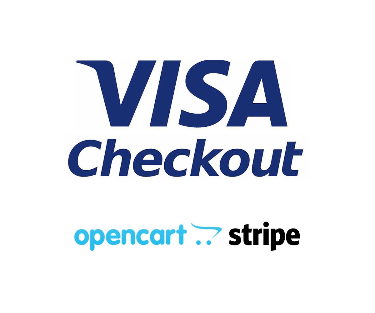visa checkout stripe opencart